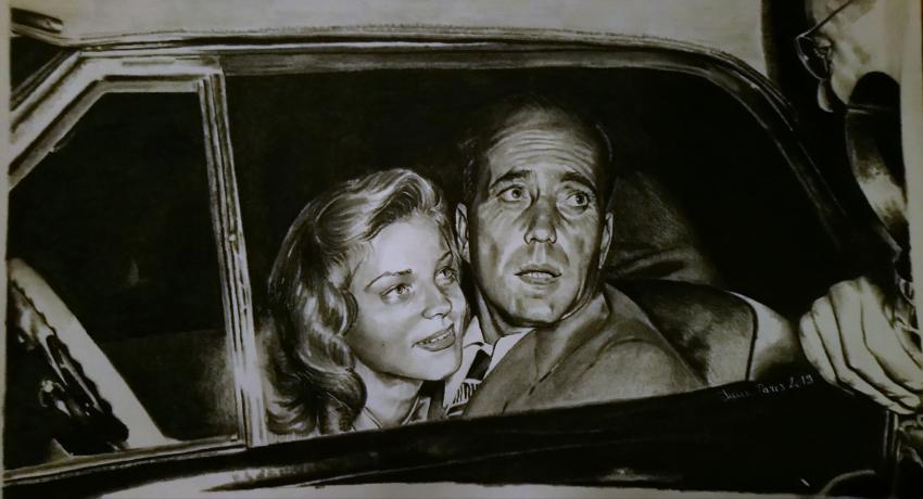 Lauren Bacall, Humphrey Bogart by sanaelle